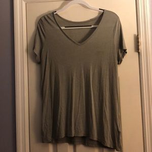 Plain grey all saints T-shirt